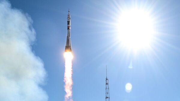 Старт ракеты-носителя Союз-ФГ. Архивное фото