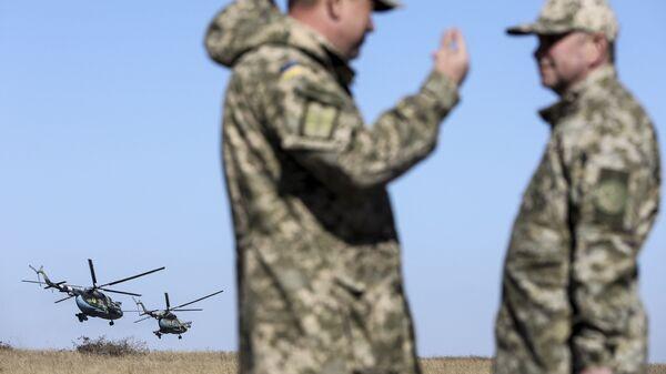 Учения Вооруженных сил Украины