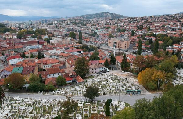 Боснийский город Сараево