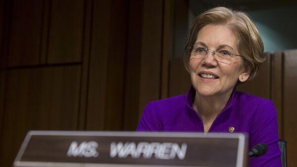 Сенатор США Элизабет Уоррен