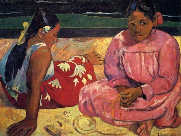 Таитянки, Поль Гоген, 1891