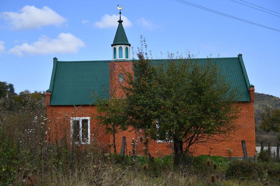 Мечеть селения Даттых в Сунженском районе Ингушетии
