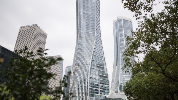 Небоскребы компании CapitaLand в городе Ханчжоу в КНР