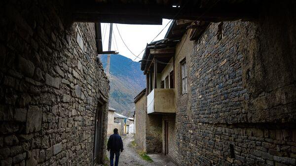 Улица в дагестанском селе