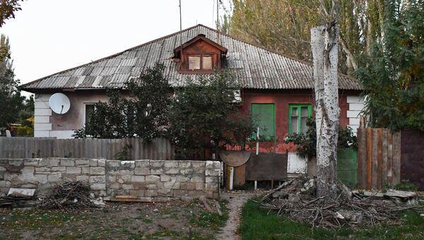 Дом по адресу улица Толстого 47, в котором жил студент четвертого курса Керченского политехнического колледжа Владислав Росляков