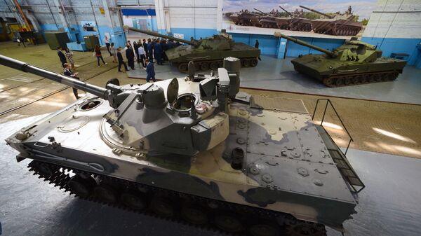 Сборка БМД-4М для ВДВ