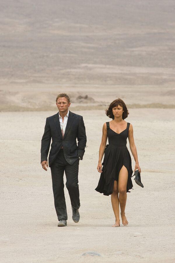 22-й фильм о легендарном секретном агенте Джеймсе Бонде Квант милосердия выходит на экраны в ноябре