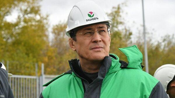 Временно исполняющий обязанности Главы Республики Башкортостан Радий Хабиров