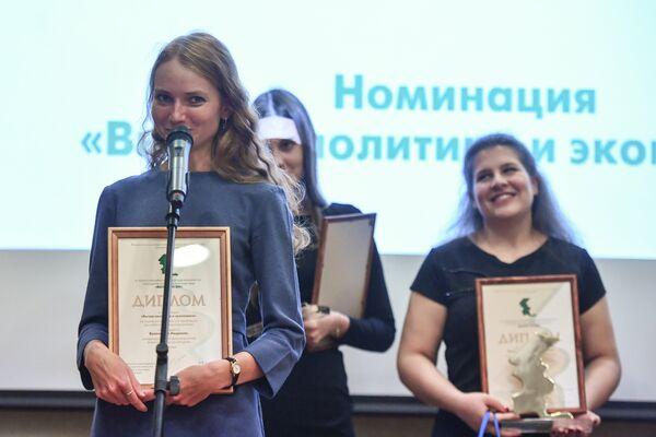 Людмила Белоножко, корреспондент Главной дирекции информации