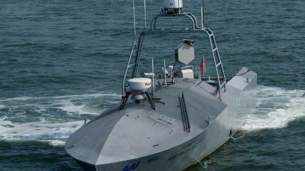 Беспилотный надводный корабль