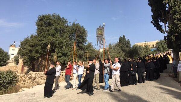 Сотни паломников отметили 150-летие русского подворья в центре Палестины. 22 октября 2018