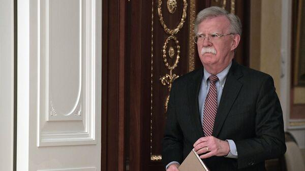 Советник президента США по вопросам национальной безопасности Джон Болтон. Архивное фото