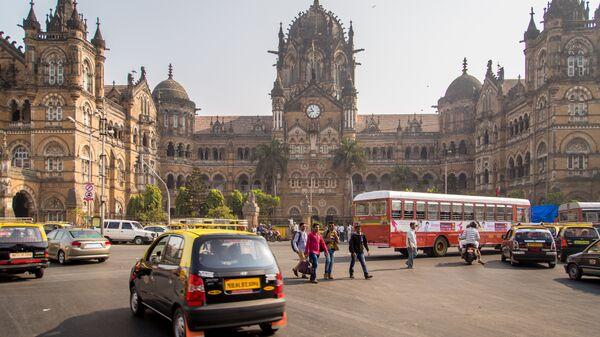 Вокзал Чхатрапати-Шиваджи в Мумбаи, Индия