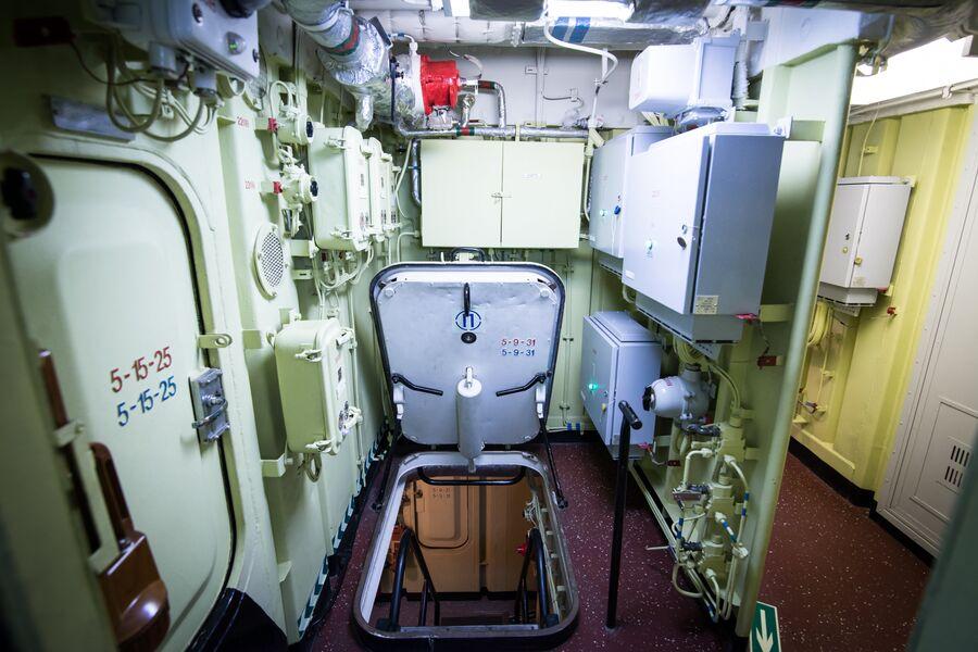 На нижних палубах фрегата Адмирал Макаров