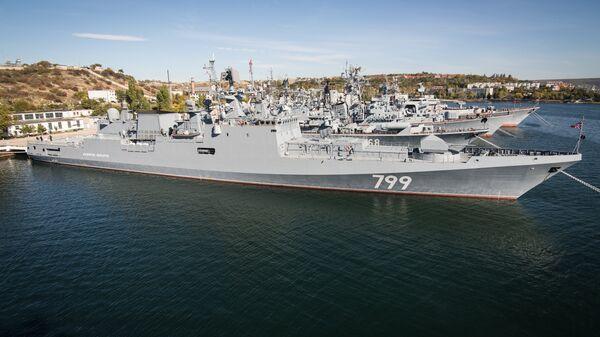 Фрегат Адмирал Макаров в Севастополе