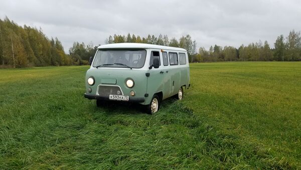 Тест-драйв юбилейной серии УАЗ-452 Буханка в Тверской области
