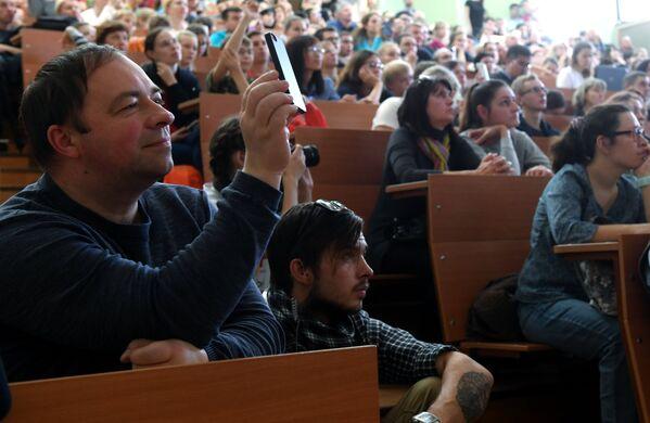 Гости Всероссийского фестиваля науки Nauka 0+ в Москве