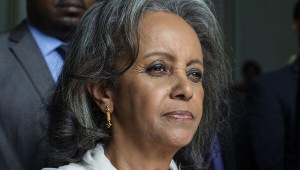 Сахле-Ворк Зевде  в парламенте Эфиопии