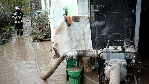 Ликвидация последствий наводнения на Кубани. Архивное фото