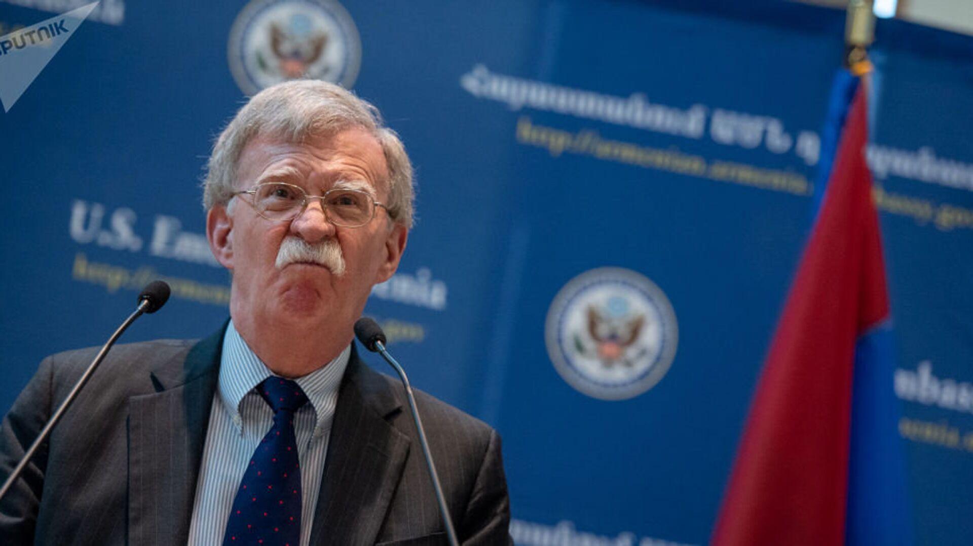Советник США по национальной безопасности Джон Болтон в посольстве США в Ереване - РИА Новости, 1920, 10.09.2019
