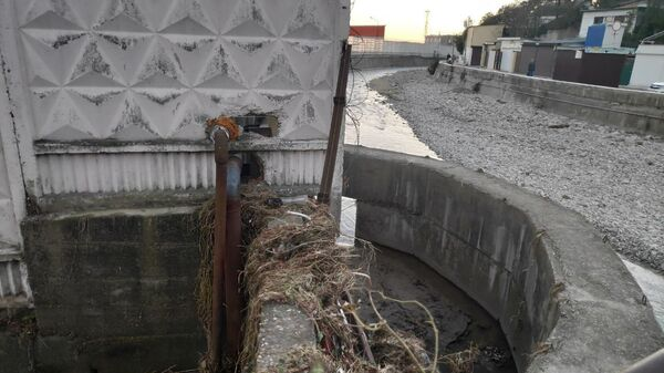 Последствия наводнения в Туапсе. 29 октября 2018