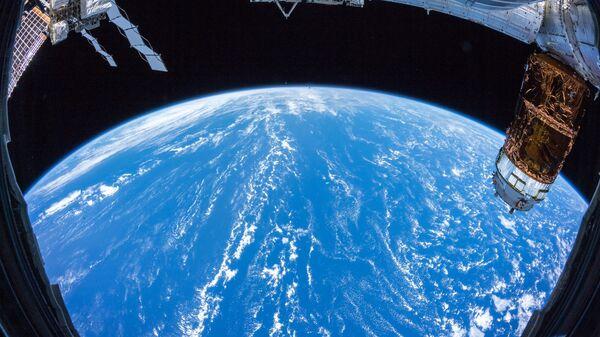 Вид на Землю с борта Международной космической станции. Архивное фото