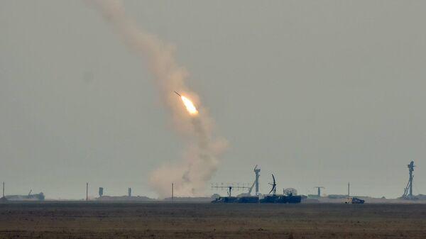 Ракетные стрельбы в Херсонской области Украины