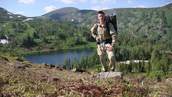 Озеро Медвежье в заповеднике Кузнецкий Алатау