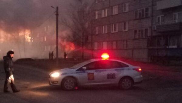 Взрыв газа в доме в поселке Приамурский в Еврейской автономной области