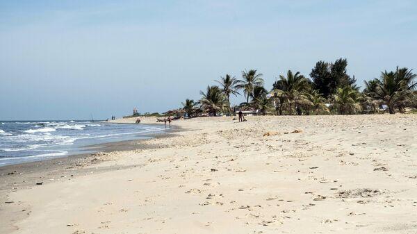 Пляж в Банжуле, Гамбия
