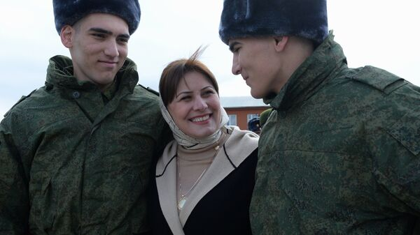 Проводы новобранцев в армию