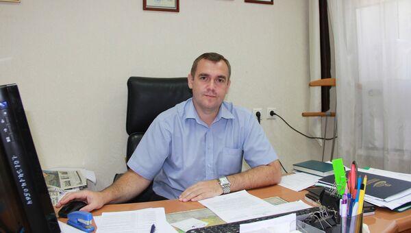 Первый заместитель министра физической культуры и спорта Краснодарского края Сергей Мясищев