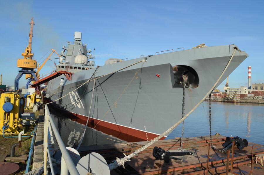 Фрегат «Адмирал флота Касатонов».