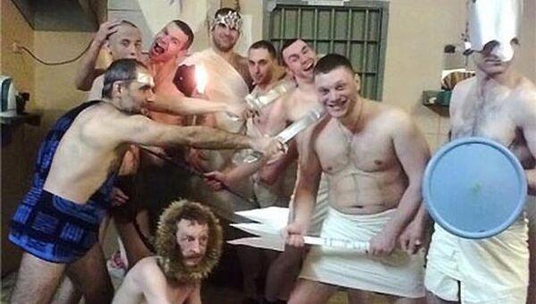 Маскарад по случаю дня рождения одного из арестованных в СИЗО-3 подмосковного Серпухова