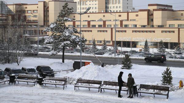 Комплекс зданий Сибирского федерального университета в Красноярске
