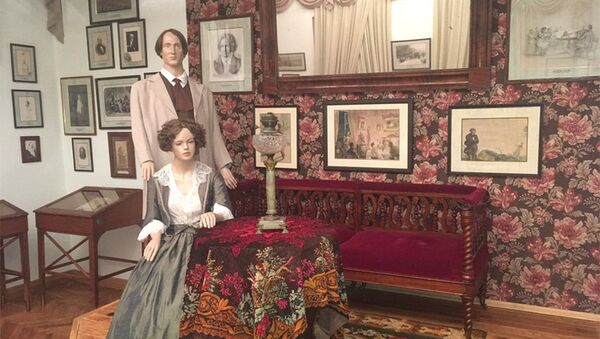 Экспонаты в музее Тургенева в Орле