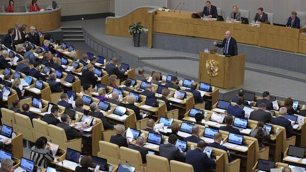 Пленарное заседание Госдумы РФ. 13 ноября 2018