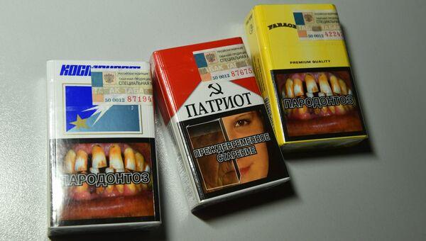 Контрафактные сигареты. Архивное фото