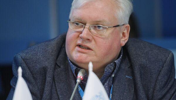 Первый заместитель председателя Законодательного Собрания Красноярского края Алексей Клешко. Архивное фото