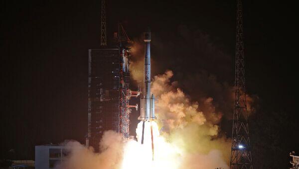 Пуск ракеты-носителя Чанчжэн-3B с навигационными спутниками Beidou-3