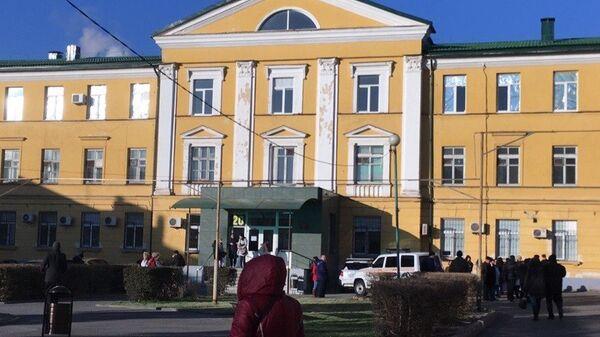 Пожар в больнице в Дзержинском районе Волгограда. 19 ноября 2018