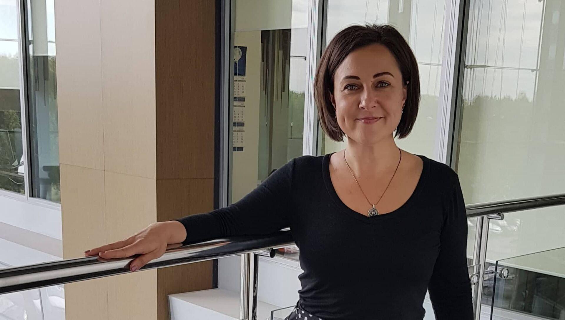 PR-директор Legenda Intelligent Development Оксана Игнатова - РИА Новости, 1920, 19.11.2018