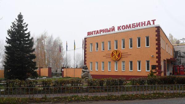 Калининградский янтарный комбинат открыл сезон добычи