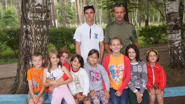 Семья Соловьевых в полном составе