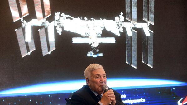 Глава научно-технического совета государственной корпорации по космической деятельности Роскосмос Юрий Коптев
