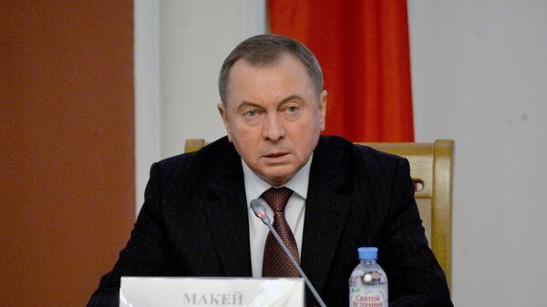 Глава МИД Белоруссии Владимир Макей