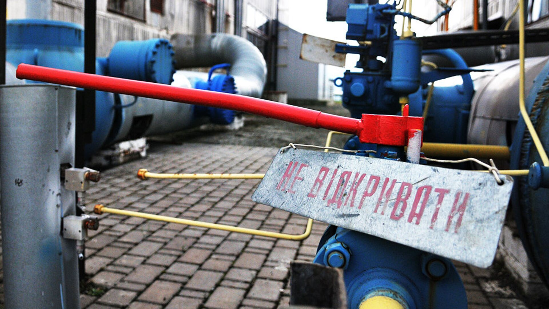 Газокомпрессорная станция в Закарпатской области Украины - РИА Новости, 1920, 25.07.2021