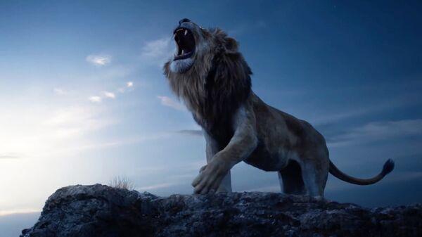 Кадр из анимационного фильма Король лев