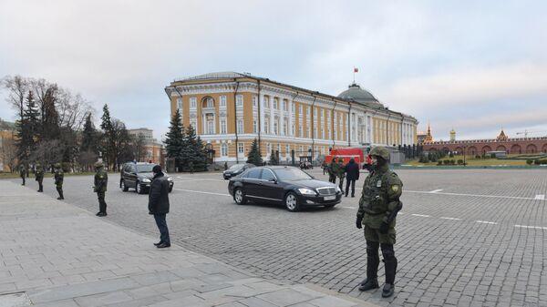 Учения ФСО на территории Московского Кремля