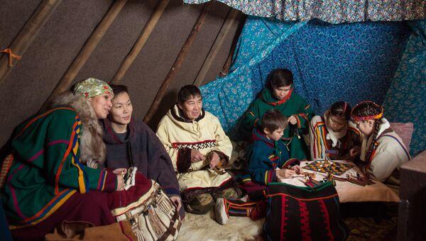 Семья Талеевых из Нарьян-Мара